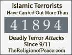 Thousands of Deadly Islamic Terror Attacks Since 9/1