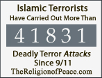 Thousands of Deadly Islamic Terror Attacks